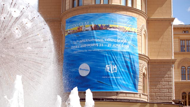 Stockholms Hamnar värd för världskonferens