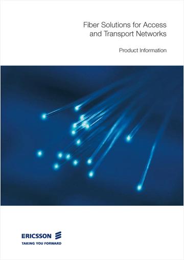 Omslaget till Ericsson Network Technologie's produktkatalog