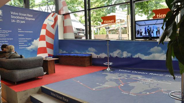 Infocenter Sverigehuset - Volvo Ocean Race Stockholm Stopover 2009