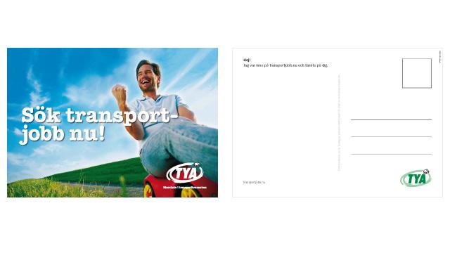 TYA-kampanj för Transportjobb.nu