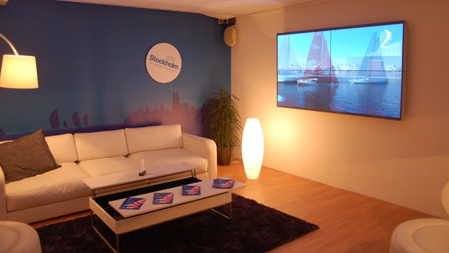 Volvo Ocean Race Stockholm Stopover på Scandinavian Boat Show