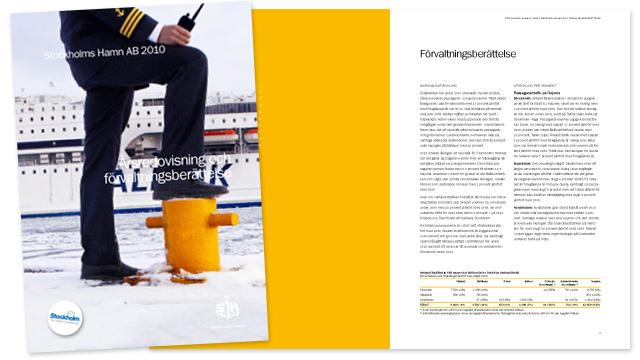 Stockholms Hamnars årsredovisning 2010: förvaltningsberättelse