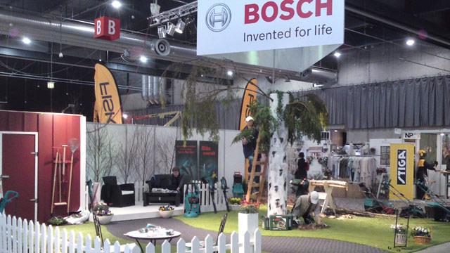 Bosch-utställning på Norden-turné