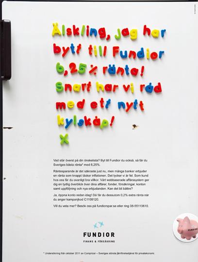 Annons för Fundior i PlazaInterior