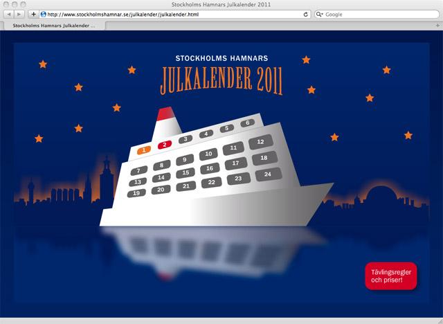 Stockholms Hamnars Julkalender 2011