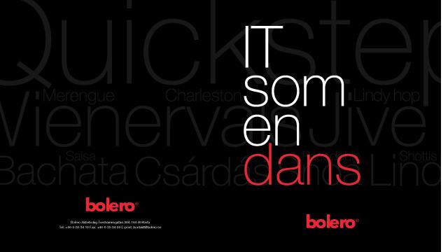 Omslaget till broschyren IT som en dans