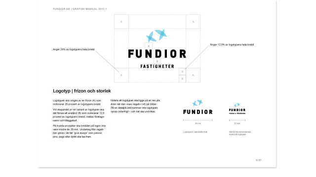 Fundiors grafiska profilmanual