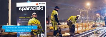 Vårnumret av Spåradiskt, Strukton Rails kund- och personaltidning, har landat.