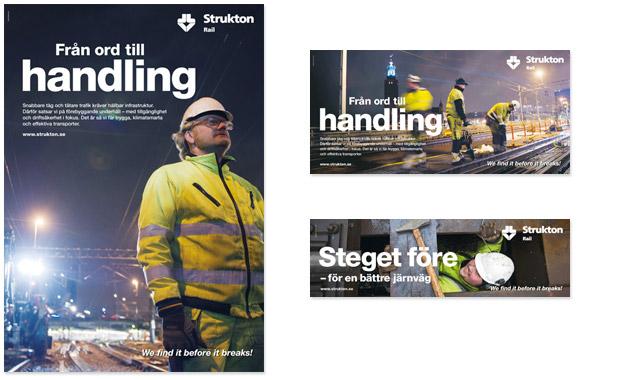 Strukton Rail – imageannonser
