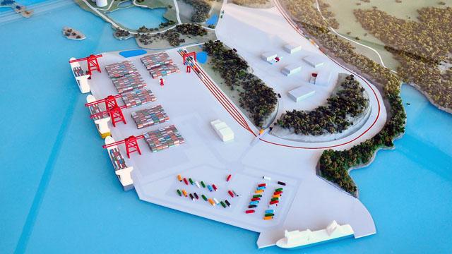 Stockholms Hamnars utställning Framtidens Nynäshamn