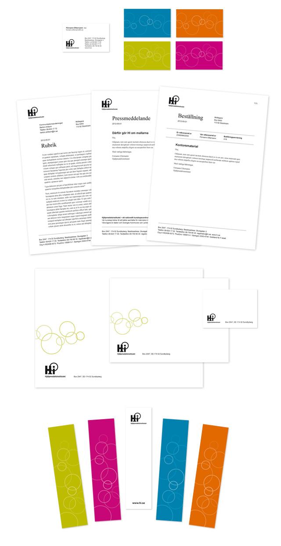 Visitkort, Wordmallar; brev, pressmeddelande, beställning, kuvert & etikett samt bokmärke