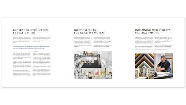 Nacka Stentryckeri - broschyr