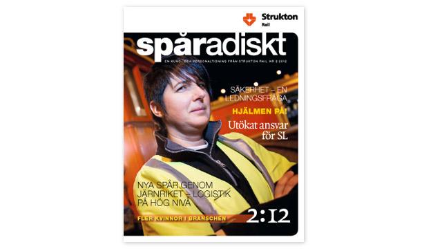 Spåradiskt nr 2, 2012.