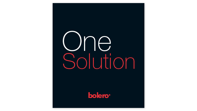 Bolero – One solution