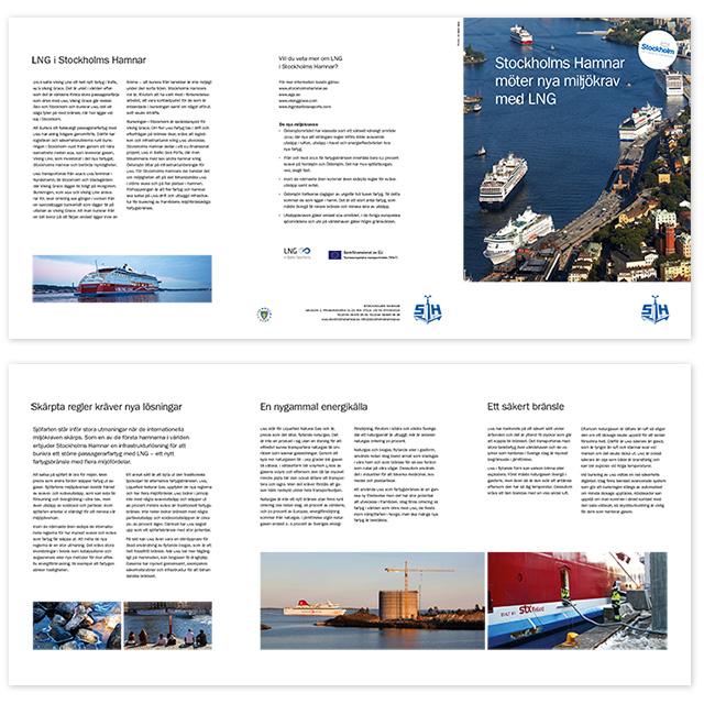 Stockholms Hamnars LNG-broschyr