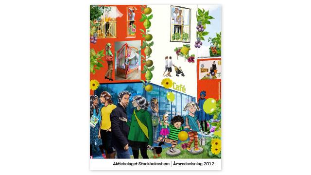 Stockholmshem Årsredovisning 2012