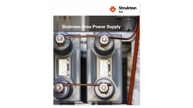 Omslaget till broschyren Power Supply