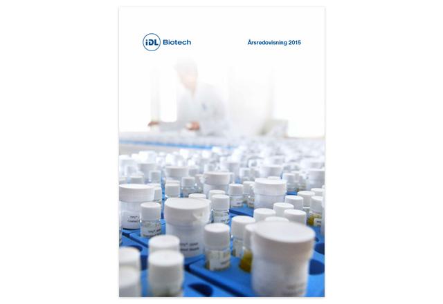 IDL Biotech årsredovisning 2015