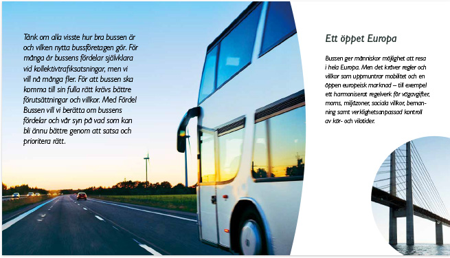 Sveriges Bussföretag – Fördel Bussen