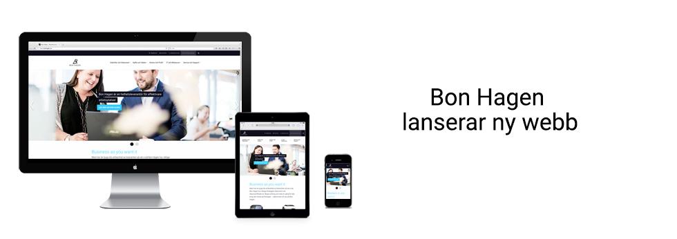 Bon Hagen lanserar ny webb