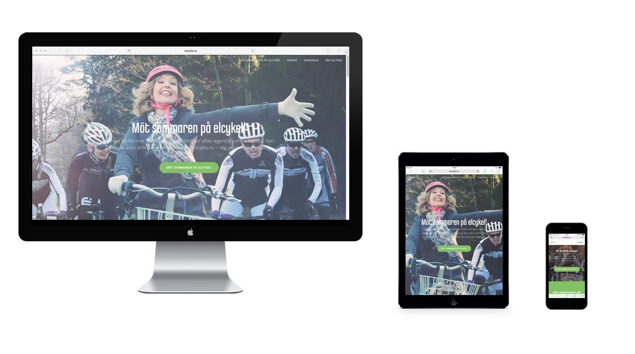 Elcykla.nu webb